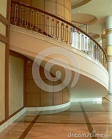 Brunei. Open Stairwell