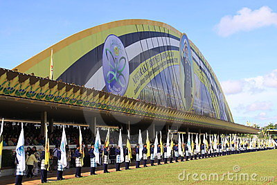 Brunei s 28th national day Editorial Stock Photo