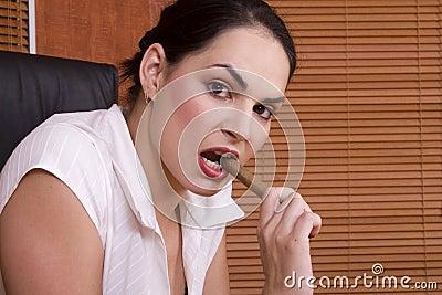 Brunette cigar