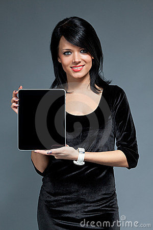 Brunette and touch pad device