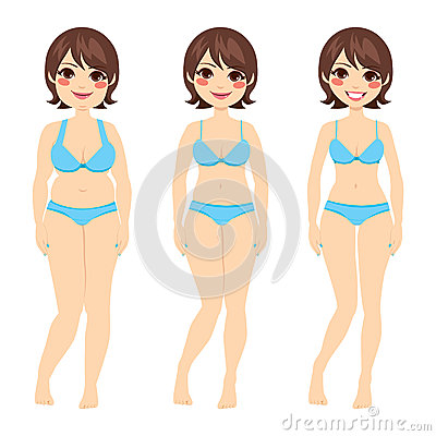 Brunette Woman Diet