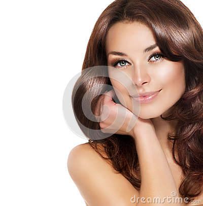 Free Brunette Woman Portrait Stock Images - 27875014