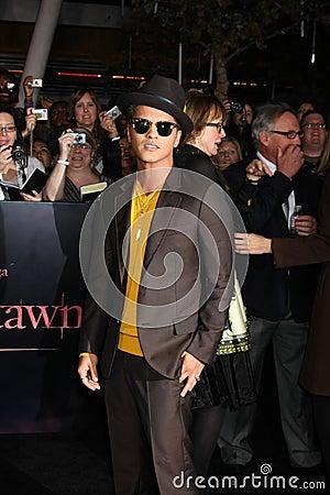 Bruno Mars Editorial Image