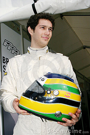 Bruno SENNA(British F3 ) Editorial Photo