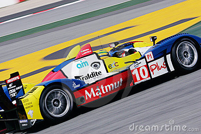 Bruno SENNA(Le Mans Series) Editorial Stock Image