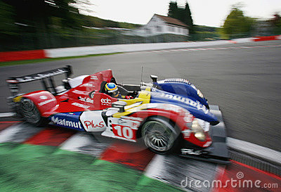 Bruno SENNA(Le Mans Series) Editorial Photography