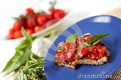 Bruschetta italien