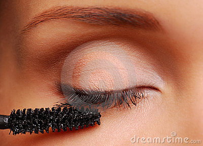 Brush for eyelashes