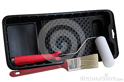 Brush Roller Tray