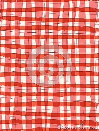 Free Brush Stroke Gigham Background Stock Images - 9987884