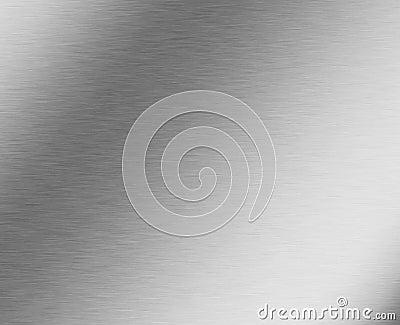 Brushed aluminium metal texture