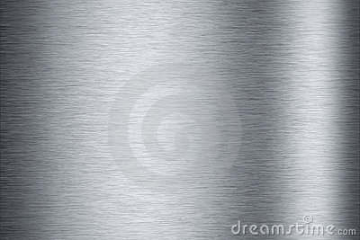 Brushed aluminum background texture