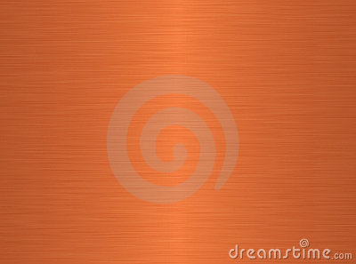 Brushed copper background