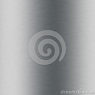 Brushed metal aluminium