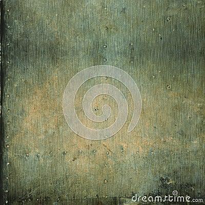 Brushed metal background