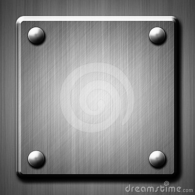 Brushed metal surface effect background