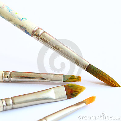 Free Brushes Royalty Free Stock Photography - 25691677