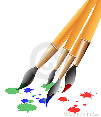 Free Brushes Stock Photos - 3273113