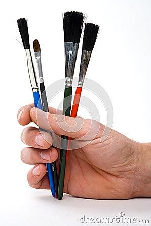 Free Brushes Stock Image - 693791