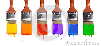 Brushes With Different Colors