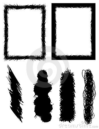 Brushes and frames