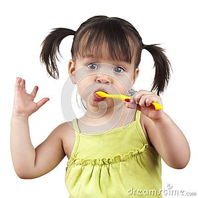 Free Brushing Teeth Stock Images - 25667494