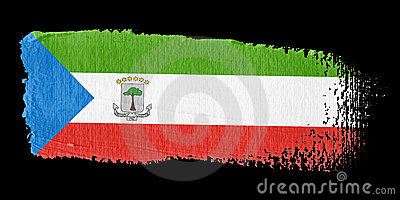 Brushstroke Flag Guinea