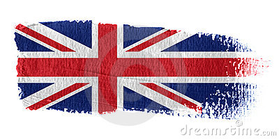 Brushstroke Flag Union Jack