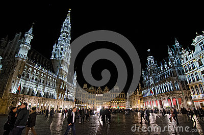 Brussels Editorial Image