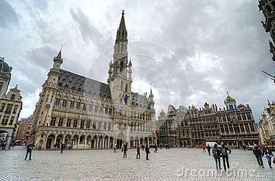 Brussels Editorial Stock Image
