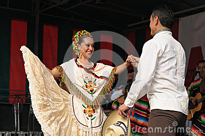 Xochicalli Mexican folkloric ballet Editorial Image