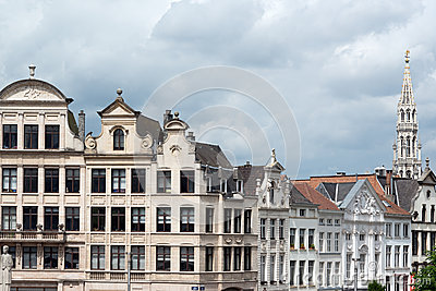 Brussels downtown