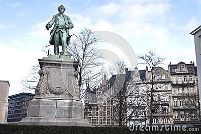 Brussels Hero Statue
