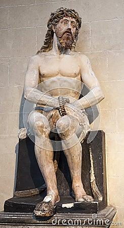 Brussels - Jesus from Saint Nicholas church