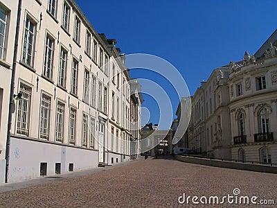 Brussels Museum Square.