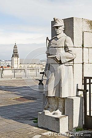 Brussels statua