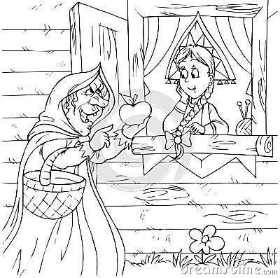 Bruxa e princesa