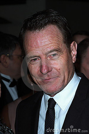 Bryan Cranston Editorial Stock Photo