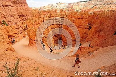 Bryce Canyon National Park, Utah Editorial Photography