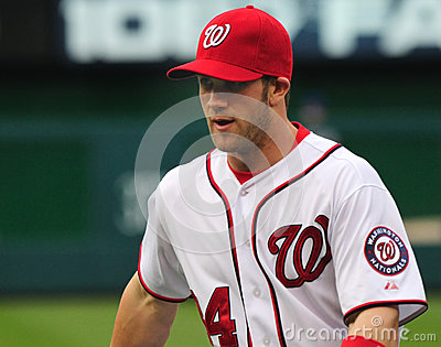Bryce Harper, Washington Nationals Editorial Stock Photo