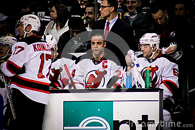 Bryce Salvadore New Jersey Devils Editorial Photo