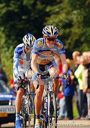 Brytania 4 cyklu wyścig tour dni Fotografia Editorial