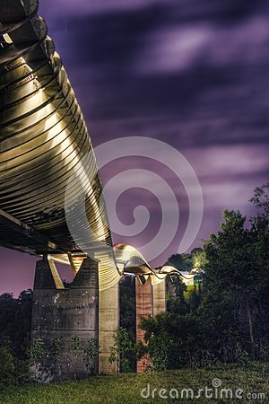 Brücke in Singapur: Henderson Waves