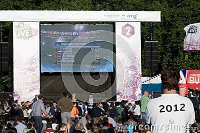 BT London Live Editorial Stock Image
