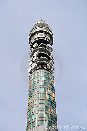 BT Tower (aka Post Office Tower, Telecom Tower)