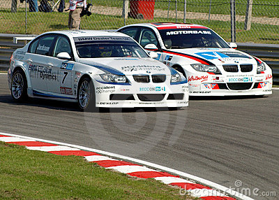 BTCC BMW s racing Editorial Image