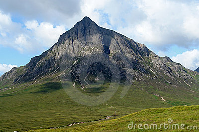 Buachaille Etive Mor at summer time