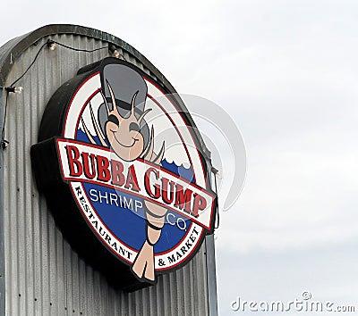 Bubba Gump Shrimp Editorial Photo