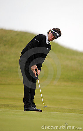 Bubba Watson British Open Sandwich 2011 Editorial Stock Image