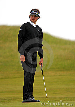 Bubba Watson British Open Sandwich 2011 Editorial Stock Image